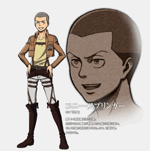Connie Springer character diseño