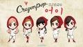 Crayon Pop's 어이 (Uh-ee) Official Illustration Ver. 1  - crayon-pop photo