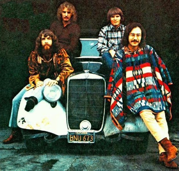 Creedence Clearwater Revival Born On The Bayou - I Put A Spell On You
