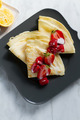 Crepes                 - food photo