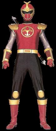 Crimson ninja ranger