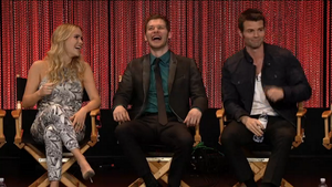 Daniel, Claire and Joseph at PaleyFest 2014