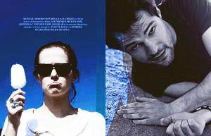 Danila and Zoey for Interview Russia Magazine