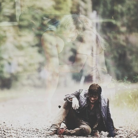 Os Mortos-Vivos wallpaper called Daryl Dixon and Beth Greene