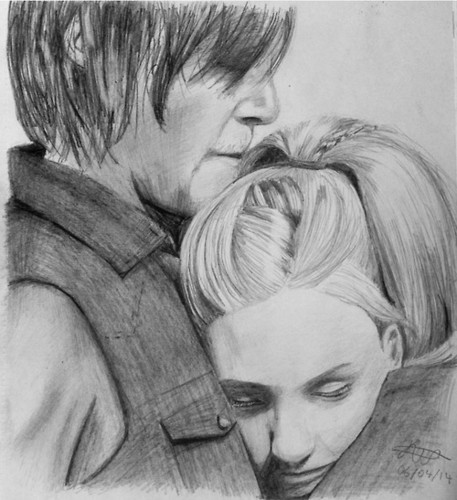 The Walking dead wallpaper entitled Daryl Dixon and Beth Greene