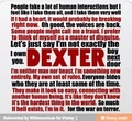 Dexter words - dexter fan art