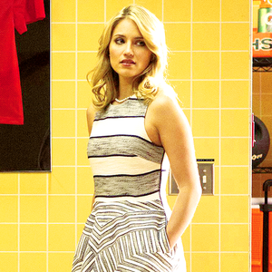 Dianna Agron Glee's 100th episode