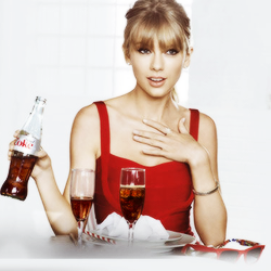 taylor rapide, swift and diet coca
