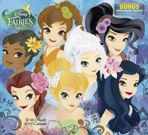 Disney Fairies Calendar 2014