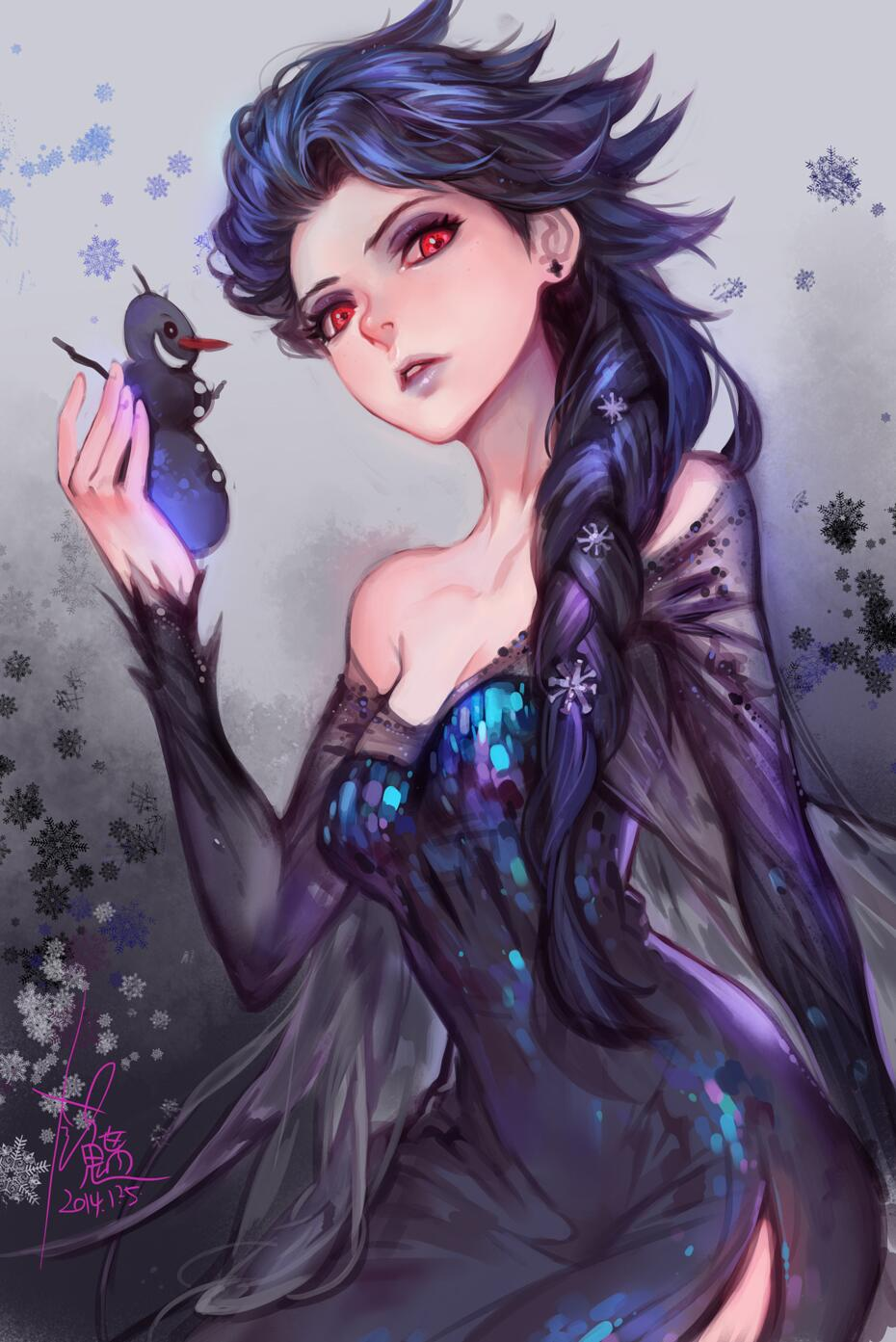 Disney Princess dark queen elsa