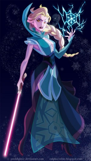 elsa in bintang warriors