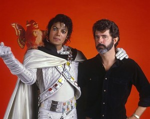 """Behind The Scenes In The Making Of """"Captain Eo"""""""