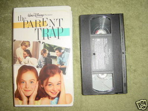 "1998 Disney Remake, ""The Parent Trap"", On home video cassette, videocassetta"