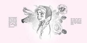 Disney's ফ্রোজেন Hans Christian Andersen's The Snow কুইন