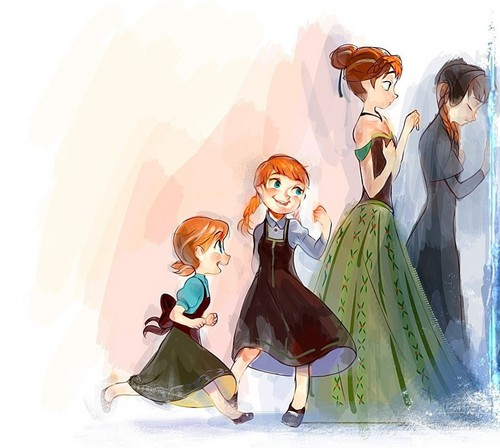 Princess Anna 바탕화면 called Do 당신 want to build a snowman?