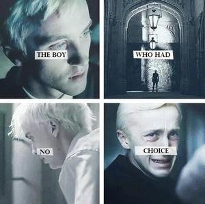 Draco Malfoy: The Boy Who Had No Choice.♥