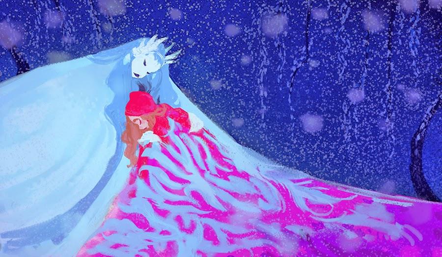 Snow Queen Frozen Concept Art