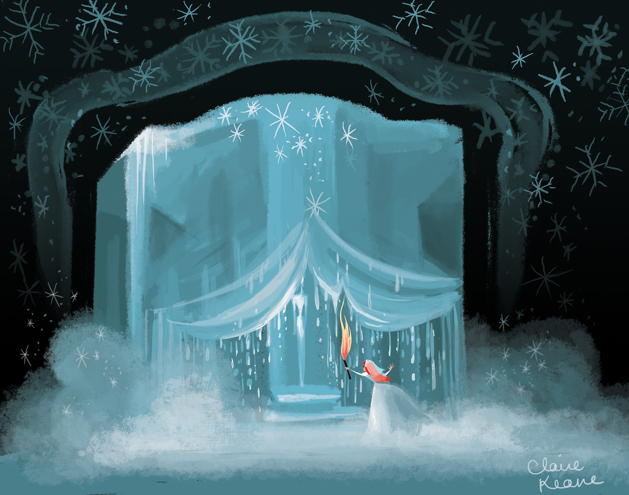 Early Visual Development for Frozen - Elsa the Snow Queen ...