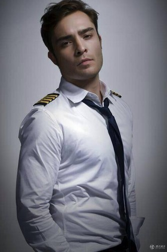 ed westwick wallpaper possibly containing a dress kemeja and a business suit called New 'Last Flight' Stills