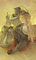 Edward and Alphonse Elric - full-metal-alchemist fan art