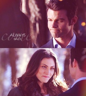 Hayley and Elijah ღ