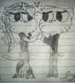 Ellie X Gumball - the-amazing-world-of-gumball fan art