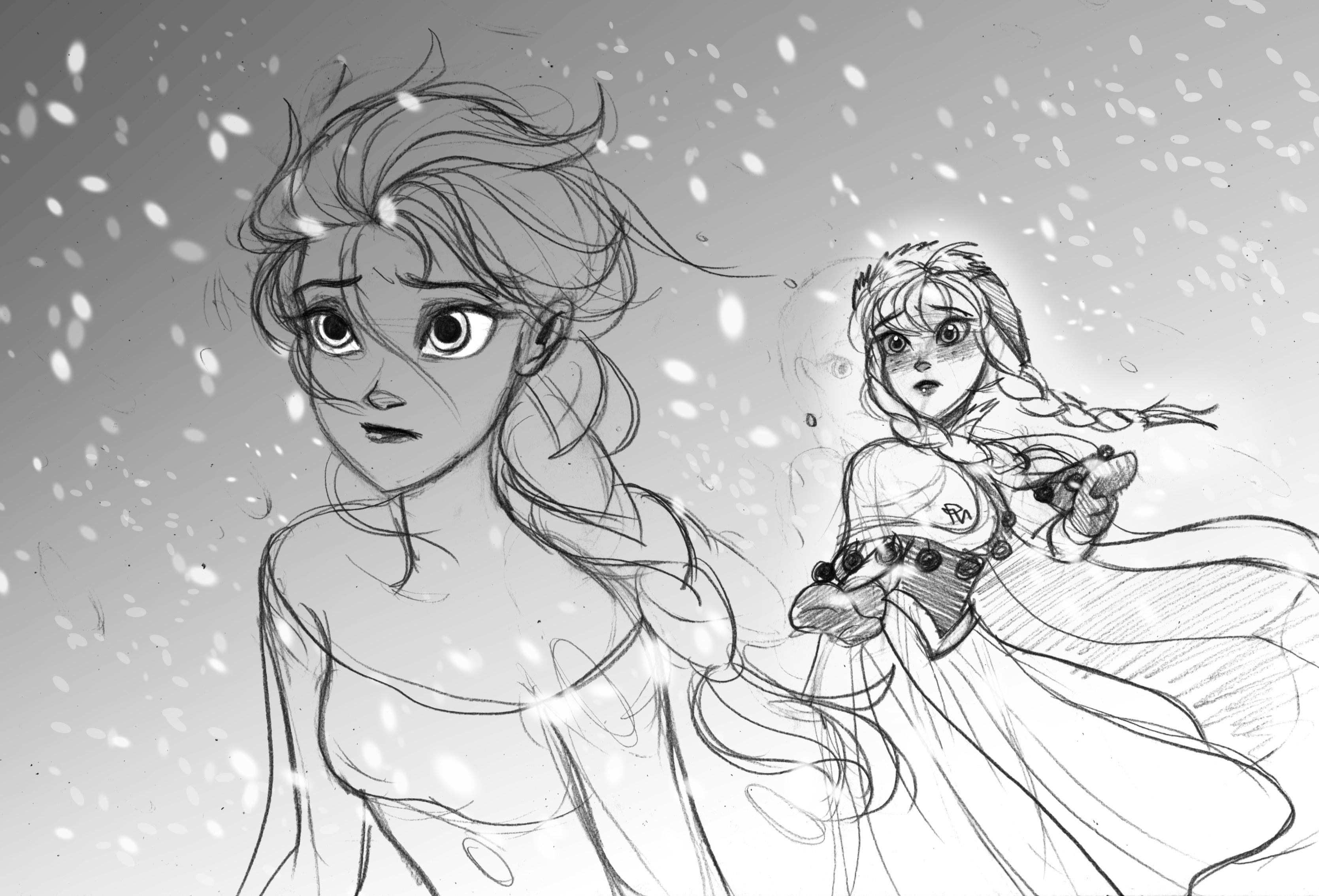 anna - 《冰雪奇缘》