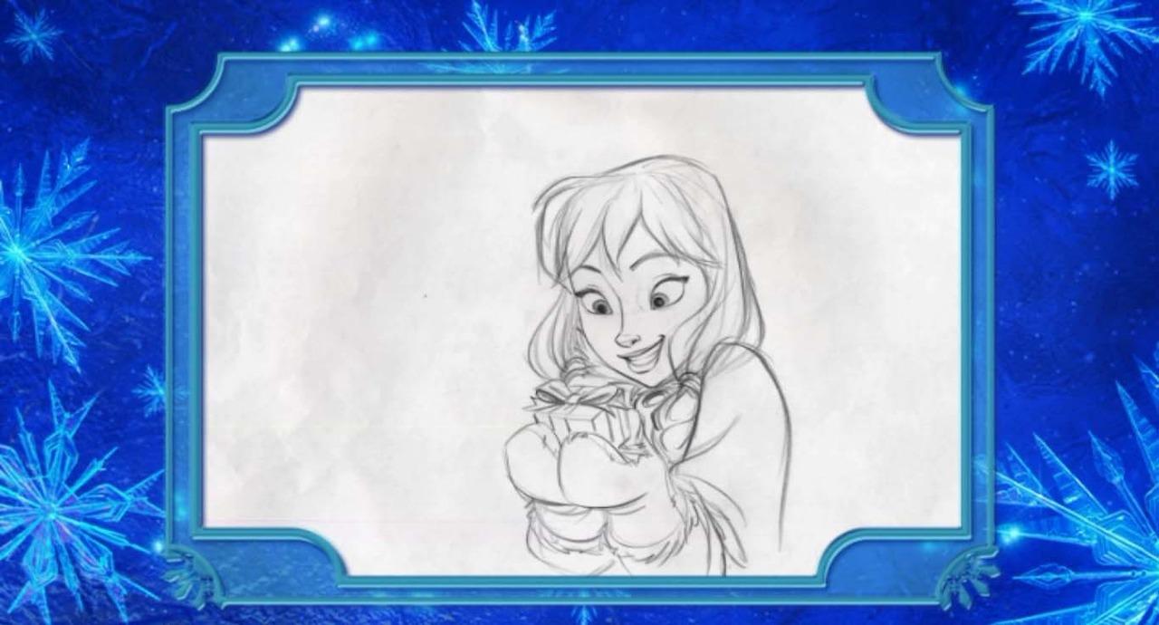 Frozen Concept Art - Elsa and Anna Photo (36816841) - Fanpop
