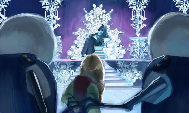 Frozen - Ice Palace Concept Art