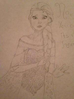 Elsa the snow 퀸