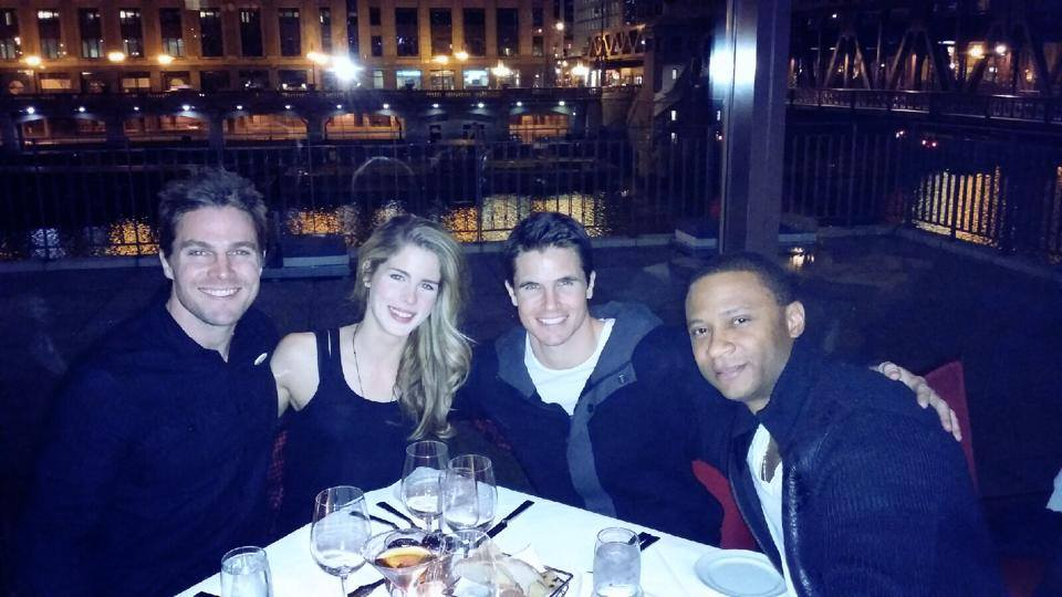 Emily, Stephen, David and Robbie in Chicago