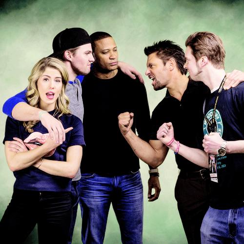 Arrow Cast in Chicago