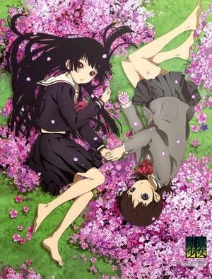 Enma Ai & Yuzuki Mikage | Jigoku Shoujo