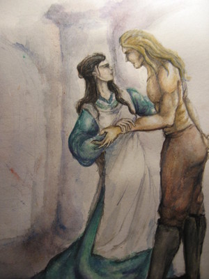 Eomer and Lothiriel 由 Neldor
