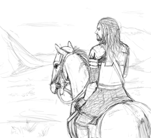 Eomer, son of Eomund দ্বারা Eleaun