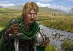 Eothreth, Rider of Rohan bởi Tiziano Baracchi