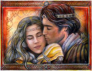 Eowyn and Faramir দ্বারা Jankolas