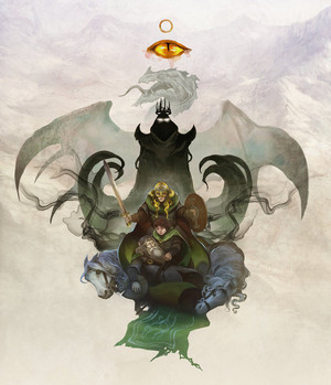 Eowyn and the Nazgul द्वारा Jon Hodgson