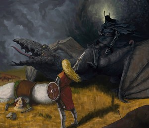 Eowyn and the Nazgul par Sassar