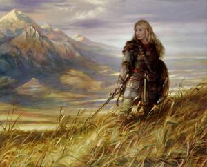 Eowyn, defender of Rohan bởi Donato