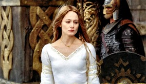 Eowyn in Meduseld