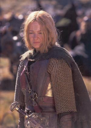 Eowyn in armour
