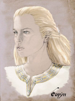 Eowyn of Rohan 由 Breogan