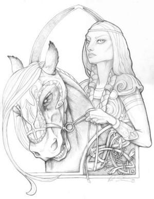 Eowyn of Rohan bởi LEvans