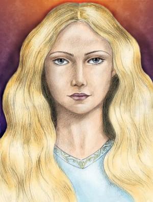 Eowyn´s portrait bởi Alina Pereswet