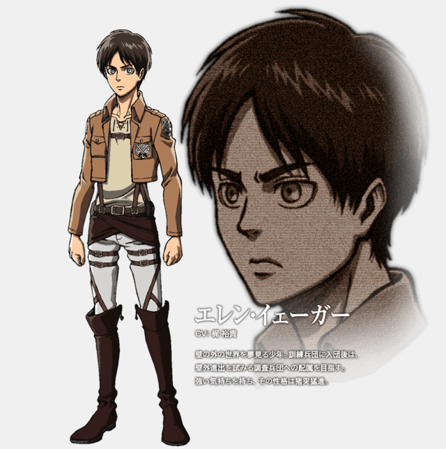 2048 Attack On Titan Characters