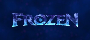 Frozen ENGLISH LOGO
