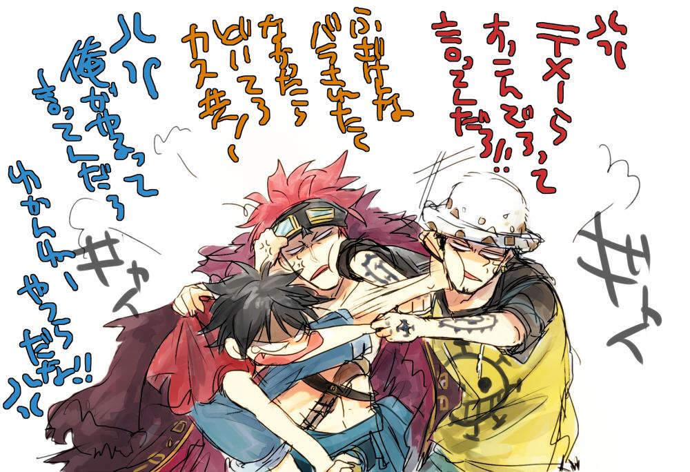 fighting each others one piece fan art 36890259 fanpop