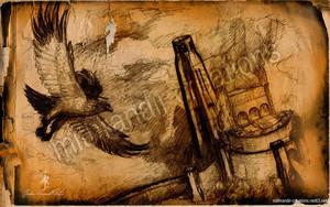 Flighing at Helm's Deep 由 Mithrandir29