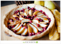 Fresh-Pear-and-Cranberry-Pie - food photo